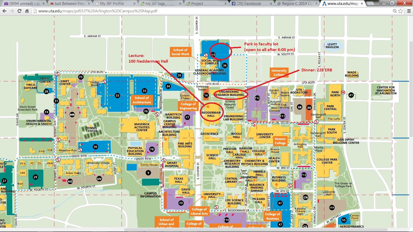 University Of Texas Arlington Map | Business Ideas 2013
